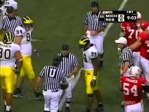2005 Dec 28 - Alamo Bowl - Michigan vs Nebraska