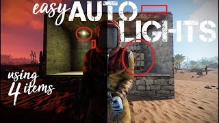 RUST: Easy auto lights (Beginner grade)