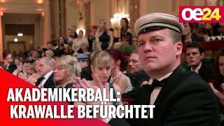 Akademikerball: Gegen-Demo & Polizeiaufgebot