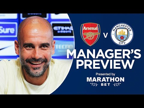 Arsenal v Man City | Pep Guardiola's pre-match press conference