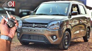 2020 Maruti Suzuki WagonR BS6 Nutmeg Brown Colour   Price   Mileage   Features   Specs   Interior