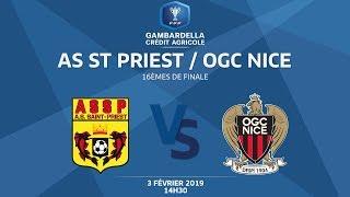 Coupe Gambardella-CA I 16e de finale - AS St-Priest / OGC Nice (2-0), le replay