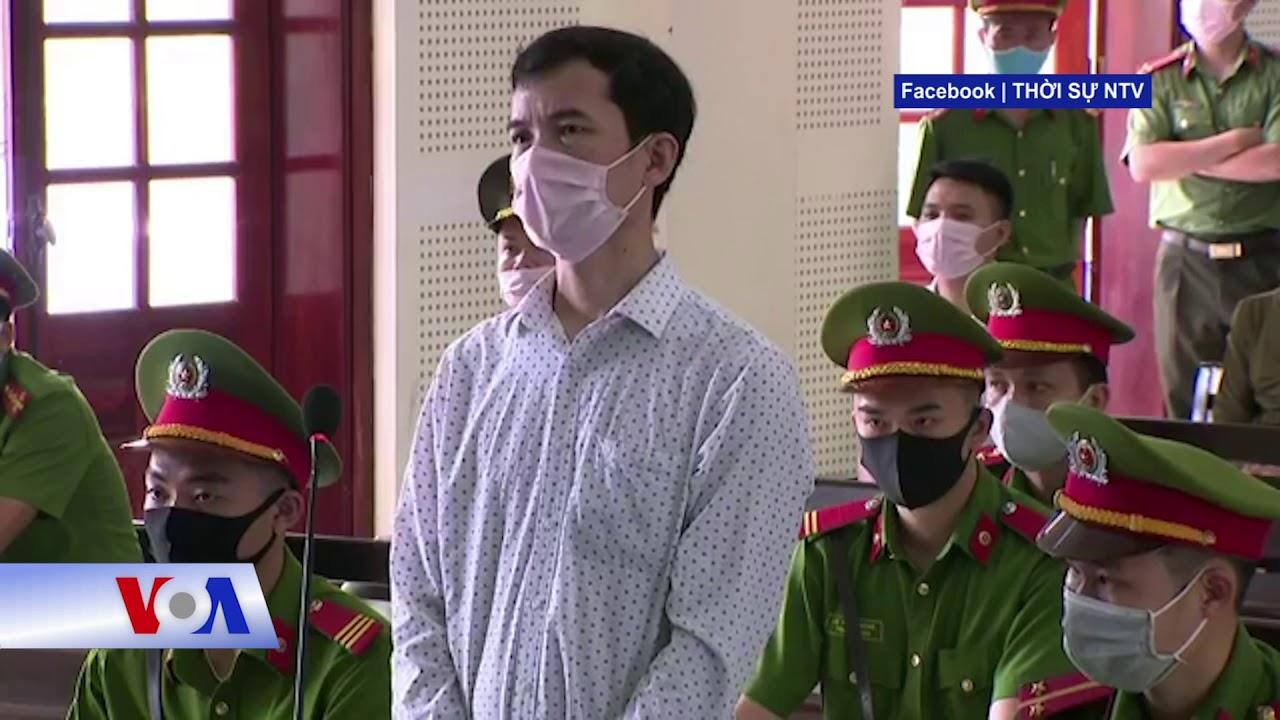 Thầy giáo Nguyễn Năng Tĩnh bị y án 11 năm tù vì 'tuyên truyền chống nhà nước' (VOA)