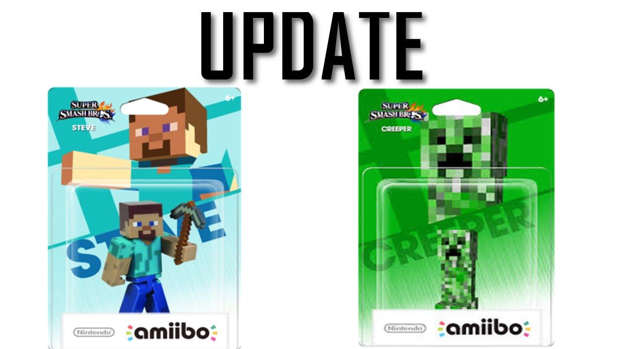 Minecraft Wii U Amiibo Update Youtube