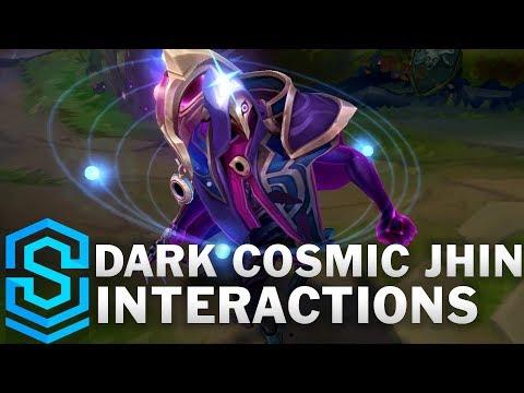 Dark Cosmic Jhin Special Interactions