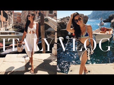 Italy Travel Vlog: Capri, Positano, and Venice!
