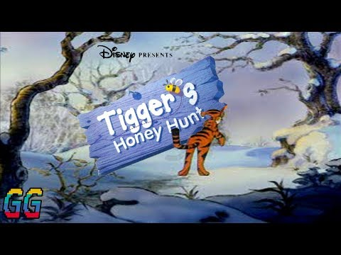 PS1 Disney's Tigger's Honey Hunt 2000 PLAYTHROUGH (100%)