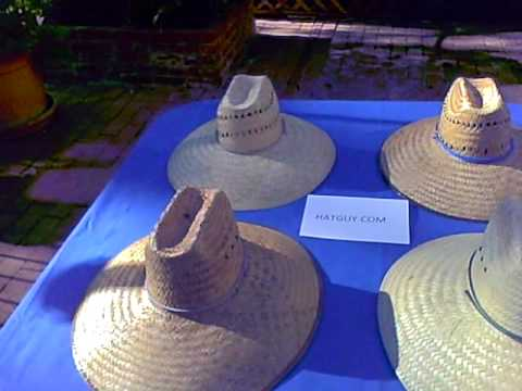Lifeguard Straw Sun Hats From