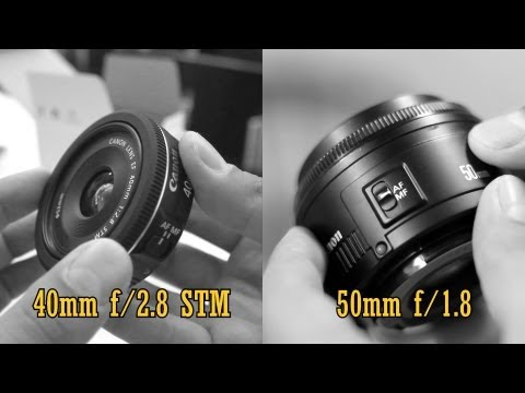 Canon 40mm STM pancake vs 50mm f/1.8: Value Lens Comparison