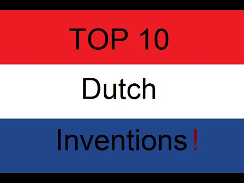 Top 10 Dutch Inventions