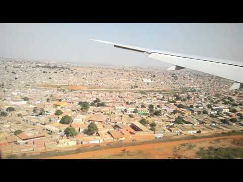 landing on luanda airport emirates dubai luanda