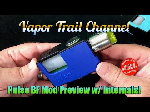 VandyVape Pulse BF Mod Preview - Upclose & Personal w/ Internals!