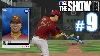 DIAMOND CREATED PLAYER IS A GLITCH! | MLB The Show 19 | Diamond Dynasty #9