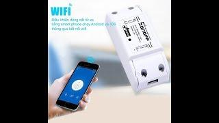 Hướng dẫn sử dụng công tắc sonoff Công Tắc Thông Minh Sonoff Basic Điều Khiển Từ Xa Qua WIFI, 3G, 4G