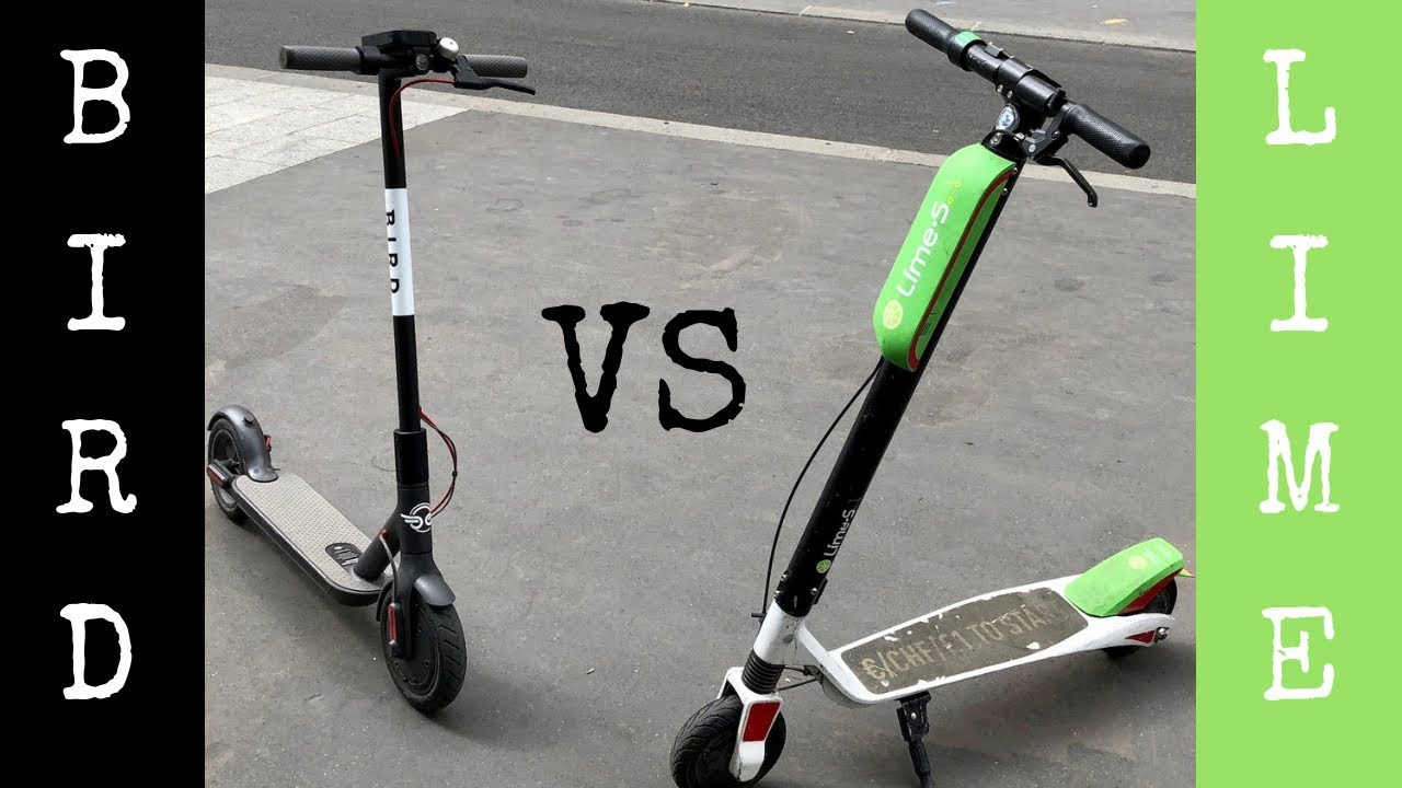 BIRD SCOOTERS VS LIME SCOOTERS | DOWNTOWN COLUMBUS