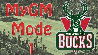 NBA 2K14 MyGM Part 1 - Clutching the tight game to start the season!