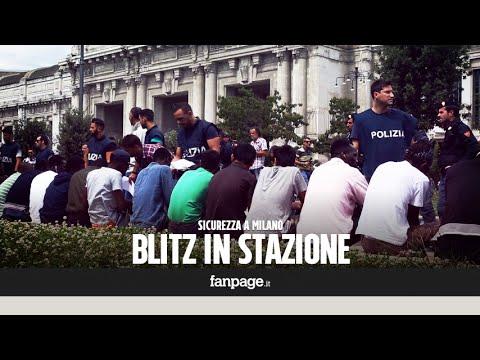 Milano, nuovo blitz in Stazione centrale: migranti identificati e perquisiti