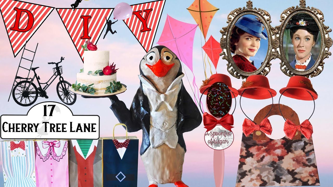 How To Throw A Diy Mary Poppins Party Decorations And Ideas Youtube