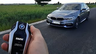 BMW 540i xDrive G30 TEST POV Drive & Walkaround ENGLISH SUBTITLES