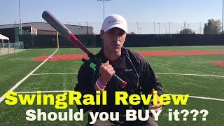 Best SwingRail REVIEW!!! Baseball / Softball swing trainer