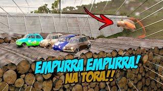 CAI FEIO!! KK - EMPURRA EMPURRA NA TORA - FORZA HORIZON 3