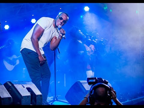 The Ben perform at Mo Ibrahim Foundation Concert in Kigali