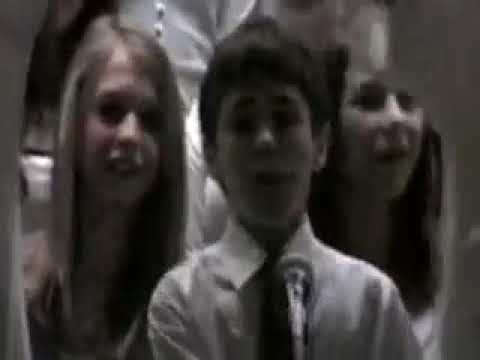 """Mike and Guy Group sing """"My Girl"""" Cromwell Middle School, 2008"""