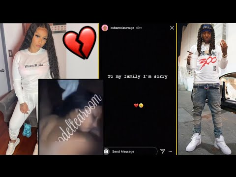 Cuban Doll Responds to Leaked Sex Tape With Tadoe [VIDEO]