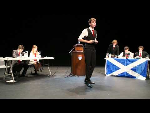 WSDC 2011 England Vs Scotland
