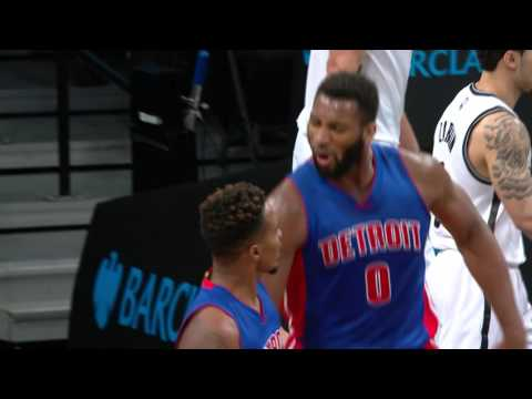 Brandon Jennings Lobs It Off The Backboard For Andre Drummond