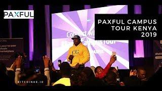 Bitcoin Education in Kenya Feat Khaligraph Jones - Paxful Campus Tour Kenya