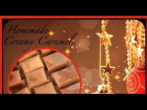 Christmas Homemade Creamy Caramel Candy Recipe/Cooking Tutorial/How To