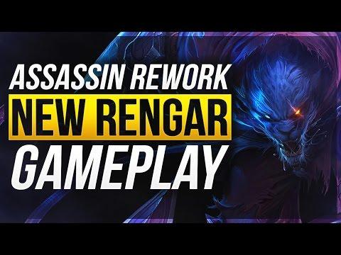 NEW RENGAR IS OP! | Rengar Rework Gameplay - League of Legends