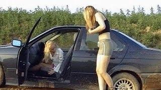 Девушки за рулём - Большая Подборка #1