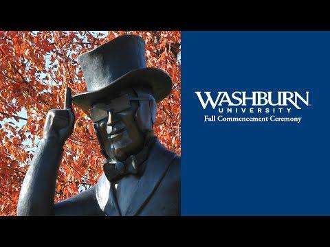 Washburn University | Fall 2016 Commencement
