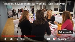Presence & Meaningful Networking - Salt Ready to Rise Events - Winterthur 2020