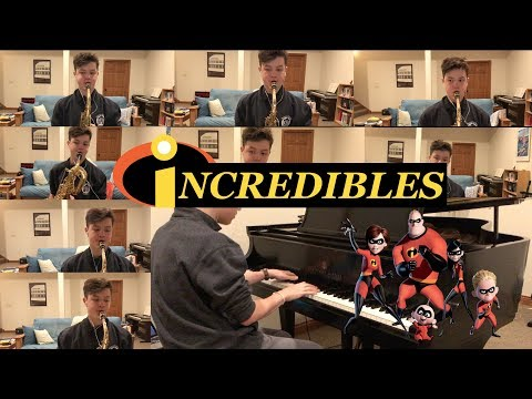 The Incredibles Theme Song Saxophone Multi-Track