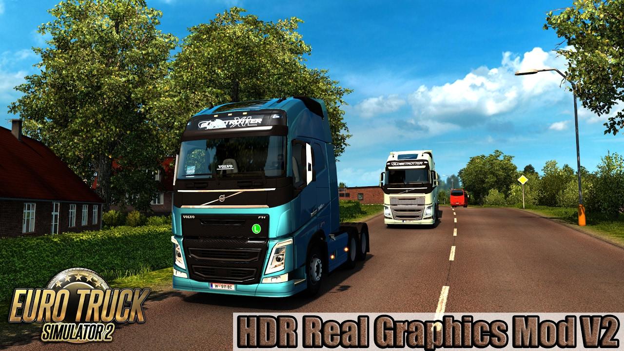 ETS2 - HDR Real Graphics Mod V2