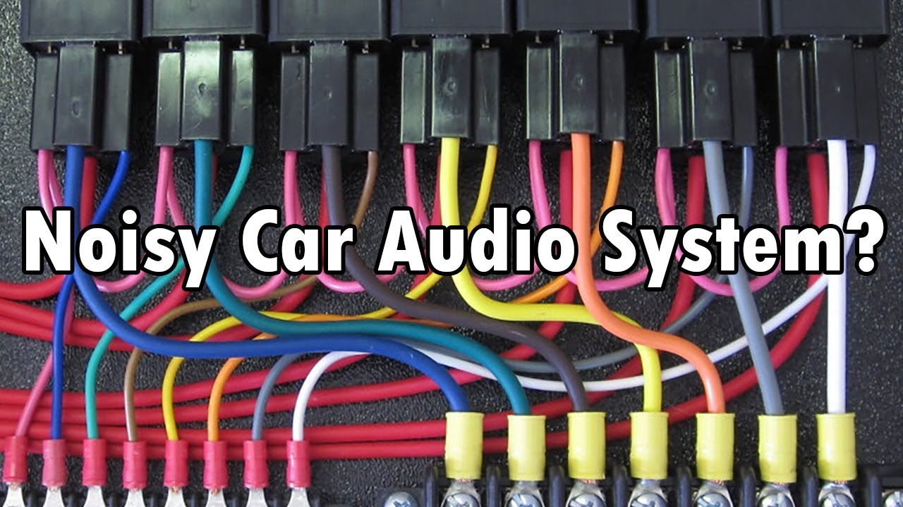 [SCHEMATICS_48DE]  How to (Car Audio): Isolation Relay for Noisy Power - YouTube | Car Audio Wiring Management |  | YouTube