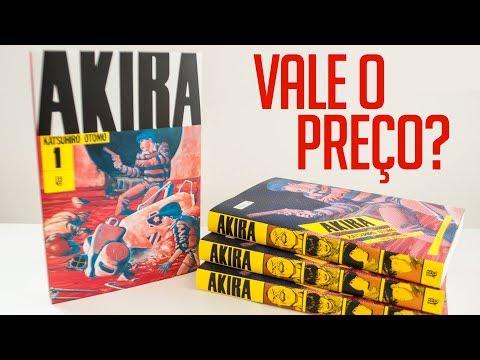 Análise da edição de AKIRA, da JBC | Vlog do PN #212