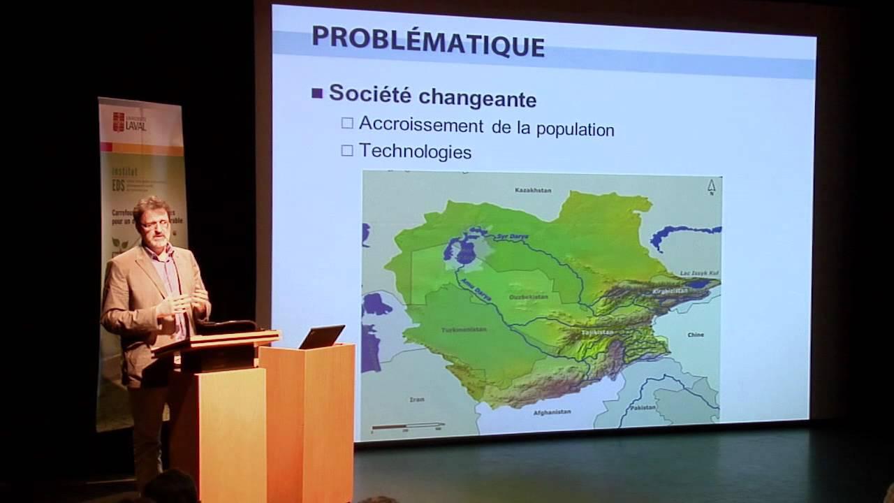 François Anctil - Réflexion sur nos responsabilités face à la gestion intégrée de l'eau (1/4)