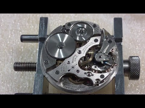 How I take apart a pocket watch, Howard, Series 11