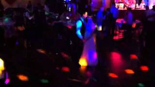 Adrian and caroline turner wedding dance