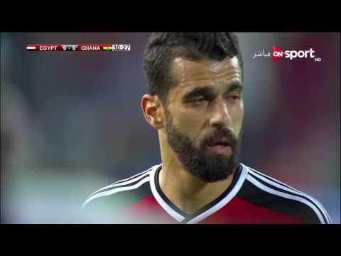 ملخص مباراة مصر وغانا - تعليق مدحت شلبي