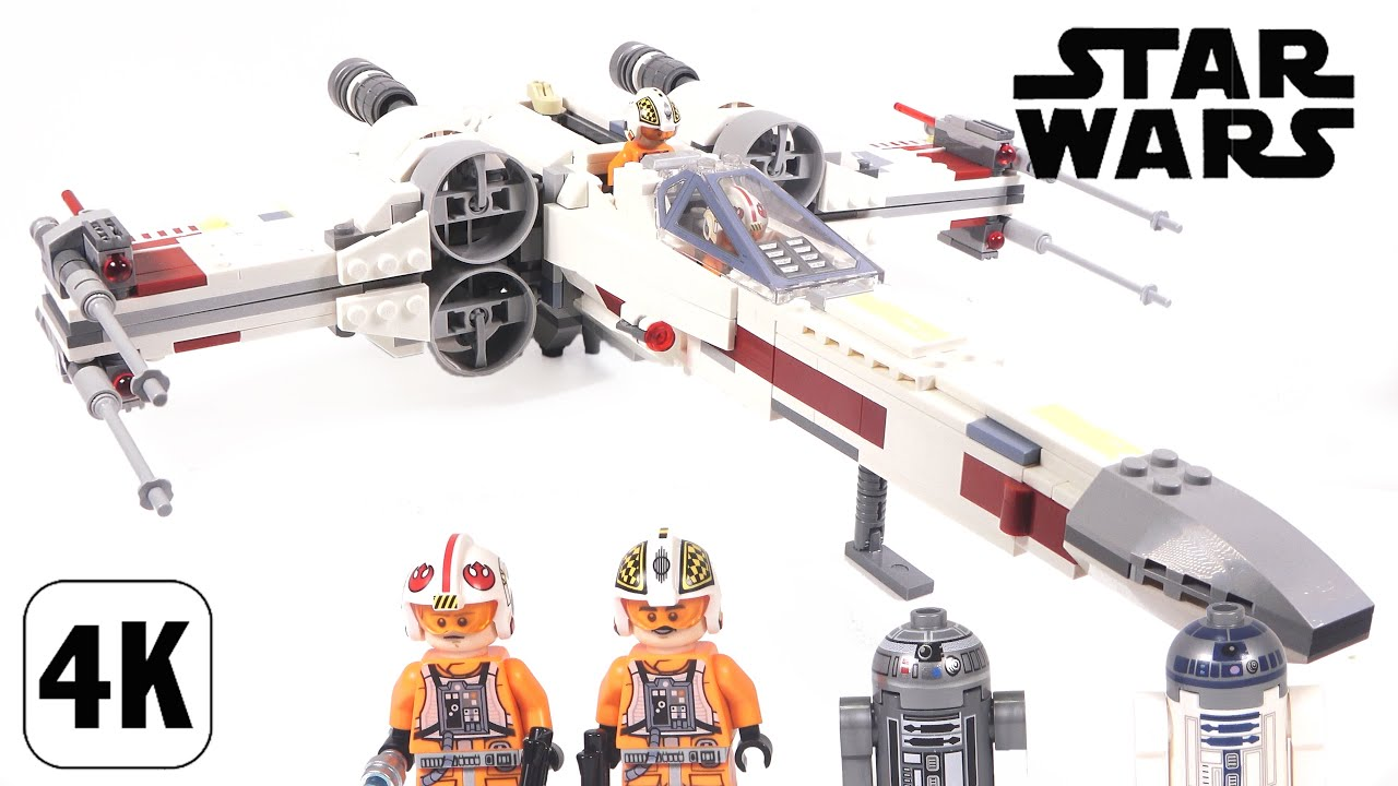 Lego Star Wars 75218 X,Wing Starfighte , Speed Build / レゴ スター・ウォーズ  Xウィング・スターファイター