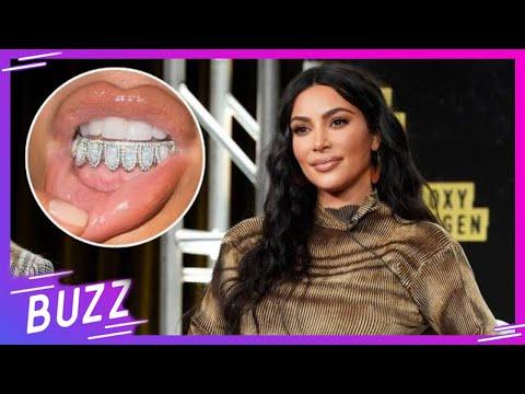 Kim Kardashian ahora luce diamantes en los dientes, ¡que cuestan una fortuna! | Buzz