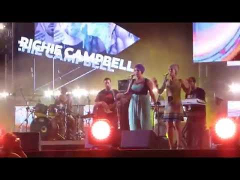Richie Campbell-Intro+'Feels Like' live-...
