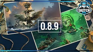 ⚓ СМОТРИМ ОБНОВЛЕНИЕ 0.8.9 👓 World of Warships. Sketch TV