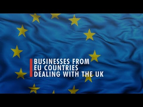3 BUSINESSES FROM EU COUNTRIES DEALING WITH THE UK