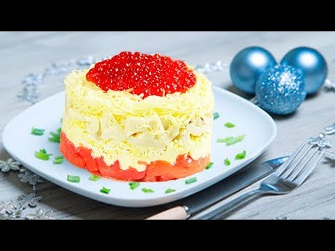 3 САЛАТА, которые я обязательно готовлю на новогодний стол! Салат Цезарь, Тбилиси и Сытый Боцман - Видео приколы ржачные до слез
